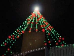 Holiday Tree Lighting Time – Downtown on the 3rd, Tower Lights on the 4th
