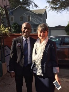 Tiggs and Lee Host Council Campaign Events