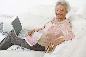 online bill paying senior