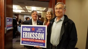 Eriksson Supporters Turn Out for Fundraiser @ Marriott