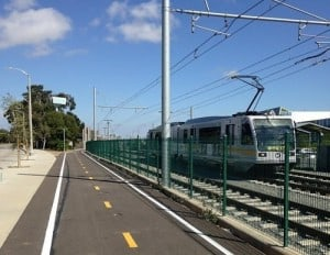 High Number of Pedestrians Sneaking onto Santa Monica Expo Line Track