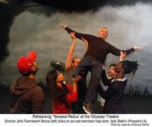 'Tempest Redux' Stehlin's Newest Shakespeare @ Odyssey