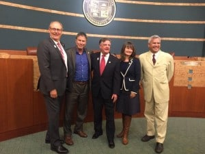 City Council Says Farewell to Weissman and O'Leary; Adds Eriksson and Small, and Keeps Sahli-Wells as Members