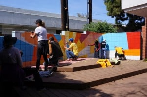 Sony Employees Help Lin Howe Shine on Global Volunteer Day