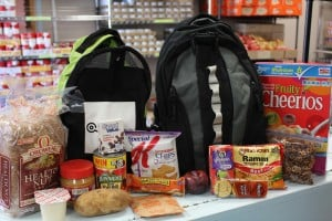 """Backpacks"" Food Drive Needs Donations & Volunteers – You Can Help"