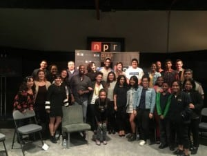 NPR Connects 'Generation Listen' with CCUSD