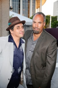 """L-R: Writer/performers Richard Montoya and Roger Guenveur Smith will take part in DouglasPlus: Conversations – """"Excavating Venice of America,"""" on Wednesday, June 1 at 8 p.m., at Center Theatre Group's Kirk Douglas Theatre. Tickets can be reserved for a $5 fee online at www.CenterTheatreGroup.org or by calling CTG Audience Services at (213) 628-2772, or free of charge in person at the Center Theatre Group box office (at the Ahmanson Theatre at the Music Center in Downtown Los Angeles) or at the Kirk Douglas Theatre box office two hours prior to the event.  (Photo by Ryan Miller/Capture Imaging)"""