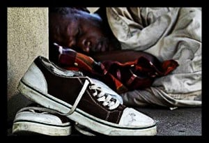 Step Up to Volunteer – Shoes for the Homeless