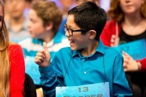 Komatsu Ties for Seventh at Scripps National Spelling Bee
