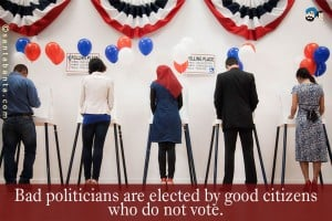 Mark Your Ballots – Today is the Day