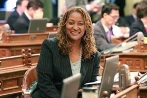 Senator Holly Mitchell Wins DeBerry Honors