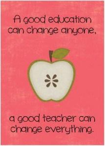 Thanking Teachers Through CCEF