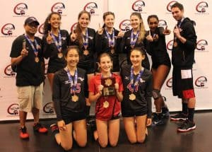 Culver City 16 Year Olds Rally for Summer Volleyball Title
