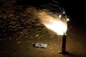 Is July Over Yet?  (Boom!) What? CCPD Talks About Illegal Fireworks