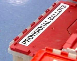Provisional Ballots – No Consistent Rules