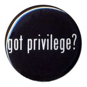 Just a Thought – Loss of Privilege Feels Like Oppression
