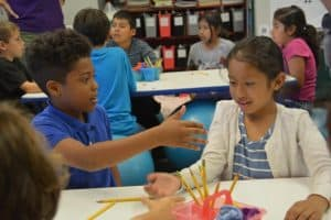 La Ballona Math Circle Gives Students a Number of Options