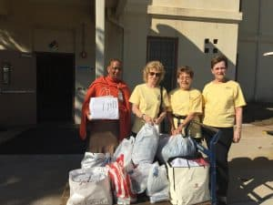 CC Women's Club Delivers Donations to Vets