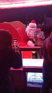 Santa's Sleigh Makes the Rounds