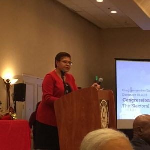 Karen Bass Opts to Forgo Looking Back, Looking for a Way Forward