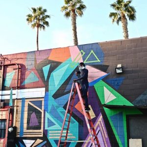 Compound Salon to Host Muralist Rob Hill