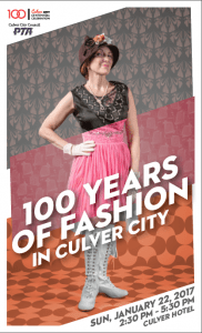 One Hundred Years of Fashion and Music – Jan. 22