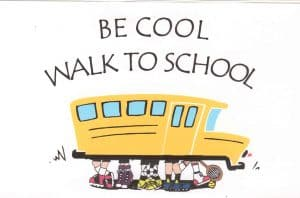 Walking School Bus Begins March 1 – Check Here for Your School Meet-Up and Time