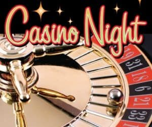 Tickets on Sale for Casino Night – March 4