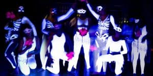 Arco Iris – Critical Mass Dance Company Creates Blacklight Dance Theater