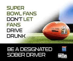 CCPD Promotes Super Bowl & Sober Drivers; Fans Don't Let Fans Drive Drunk