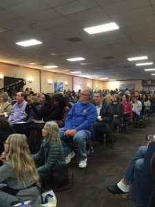 Sea Change Town Hall Draws Enthusiastic Crowd