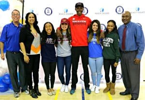 CCHS Athletes Make College Picks on National Signing Day