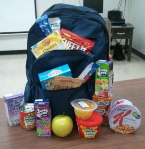 Backpacks for Kids – Food Drive Needs Volunteers