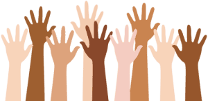 43299e71404d31520b1d122eab4c0869_diverse-people-raising-hands-raised-hand-clip-art_550-267