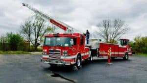 New Truck Upgrades CCFD Fleet – Pierce Arrow XT 100