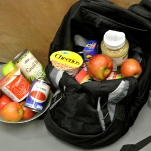 "CCUSD Backpacks Program Scores ""Most Successful Food Drive Ever!"""