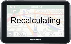 "Just A Thought – ""Recalculating…"""