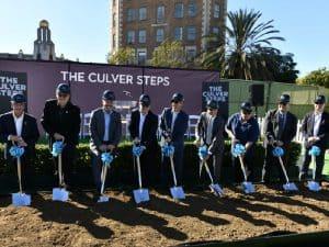 Culver Steps Breaks Ground