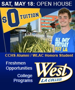 West LA College May Open House