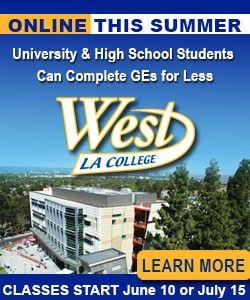 West LA College Summer Classes