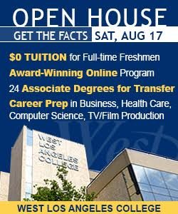 West LA College Open House August 17