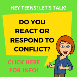 Do you react or respond to conflict?