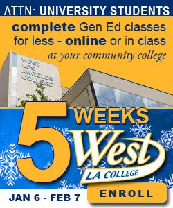 West LA College - Winter Session