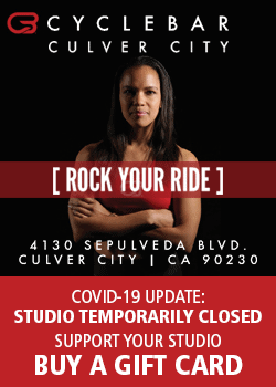 Culver City Cycle Bar temporarily closed - buy a gift card