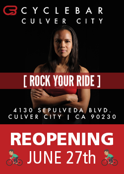 Culver City Cycle Bar Reopening June 27th