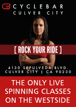 Culver City Cyclebar - the only live spinning classes on the Westside