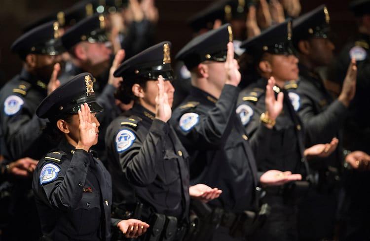Capitol Police Graduation